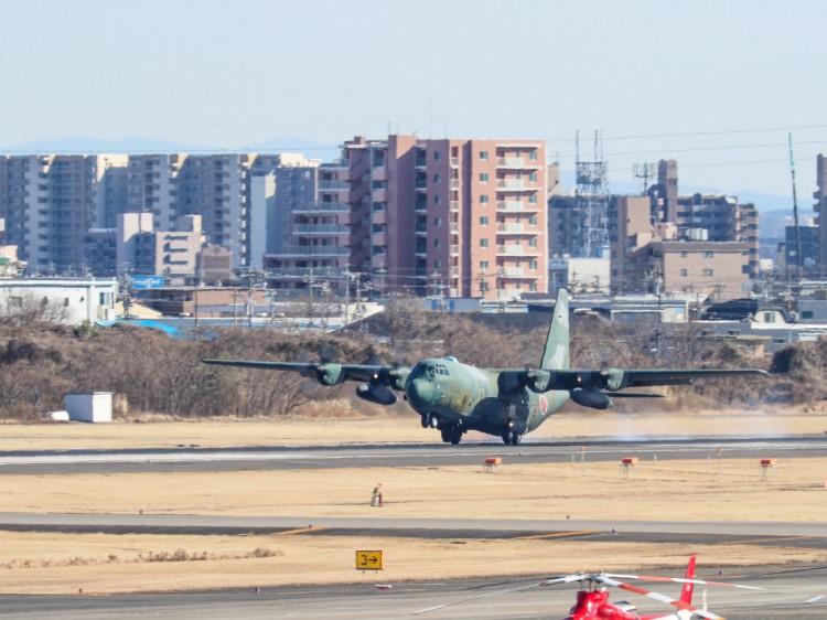 JSDF_C-130H_20170125-6